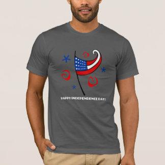Glücklicher Unabhängigkeitstag T-Shirt