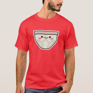 Glücklicher Unterhose-T - Shirt