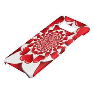 Glücklicher Valentinsgruß-große rote Herzen Case-Mate Samsung Galaxy S8 Hülle