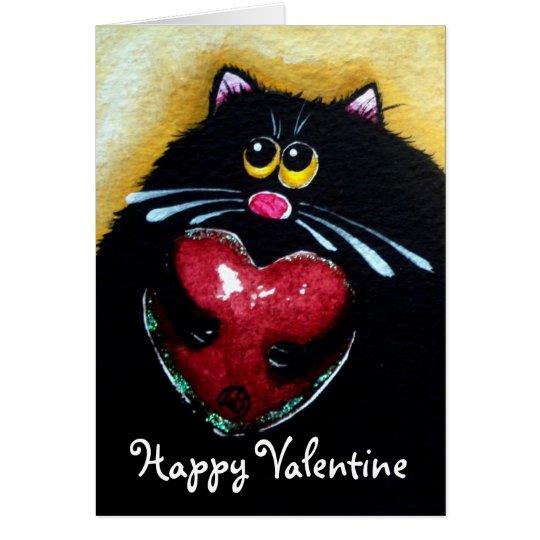 Glücklicher Valentinsgruß Grußkarte