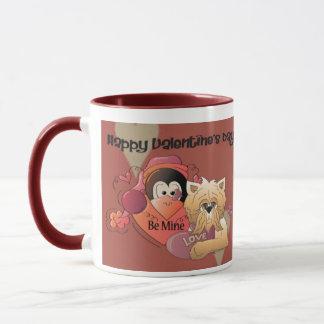 Glücklicher Valentinsgruß Tasse