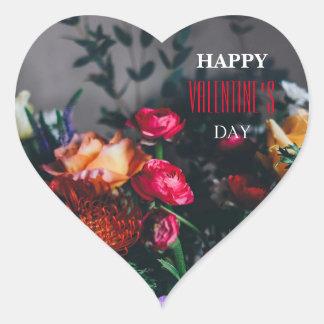 Glücklicher Valentinstag-Aufkleber Herz-Aufkleber