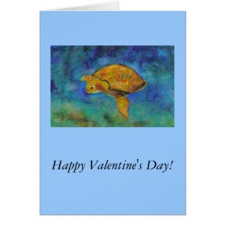 Glücklicher Valentinstag! Karte
