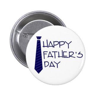 glücklicher Vatertag Anstecknadelbuttons