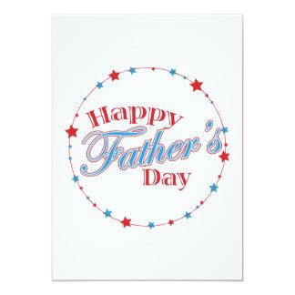 Glücklicher Vatertag Individuelle Einladung