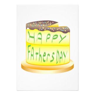Glücklicher Vatertag Einladungen