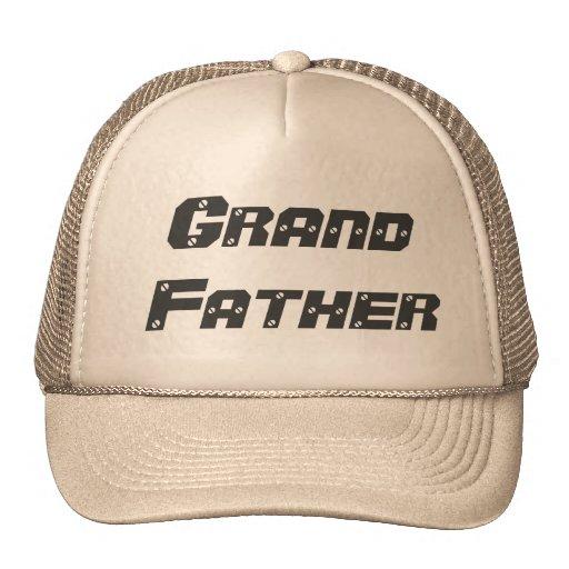 Glücklicher Vatertag, großartiger Vater-Hut Truckerkappe