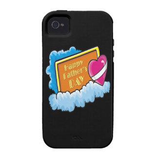 Glücklicher Vatertag Case-Mate iPhone 4 Case