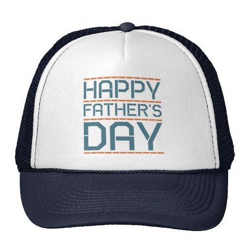 Glücklicher Vatertag! Truckerkappen
