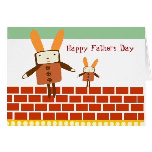 Glücklicher Vatertag Karten