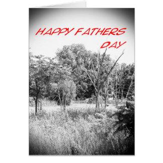 Glücklicher Vatertag Grußkarte