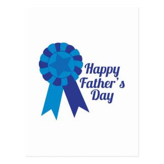 Glücklicher Vatertag Postkarte