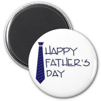 Glücklicher Vatertag! Runder Magnet 5,7 Cm