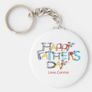 Glücklicher Vatertag Schlüsselanhänger