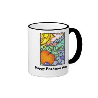 Glücklicher Vatertag Kaffeehaferl