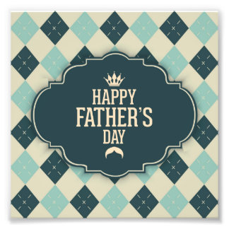 Glücklicher Vatertag, Tupfen, grüne Beige, Photo