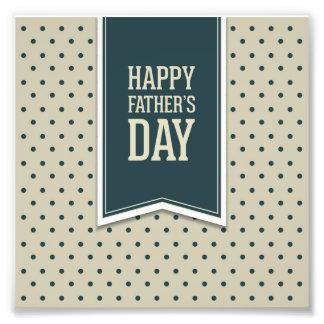 Glücklicher Vatertag, Tupfen, grüne Beige, Fotos