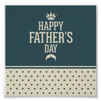 Glücklicher Vatertag, Tupfen, grüne Beige, Kunst Fotos