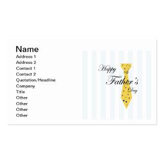 Glücklicher Vatertag Visitenkarten