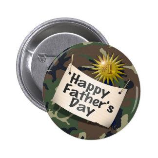 Glücklicher Vatertag zu meinem Vati #1! Runder Button 5,7 Cm