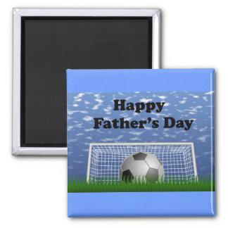 Glücklicher Vatertags-Fußball Magnete