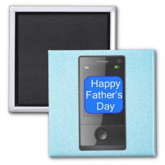 Glücklicher Vatertags-Handy Magnete