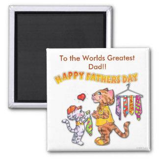 Glücklicher Vatertags-Magnet Kühlschrankmagnet