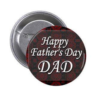 Glücklicher VATI der Vatertag Buttons