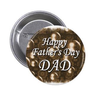 Glücklicher VATI der Vatertag Button