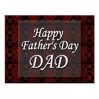 Glücklicher VATI der Vatertag Postkarten