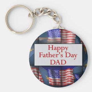 Glücklicher VATI der Vatertag Schlüsselanhänger