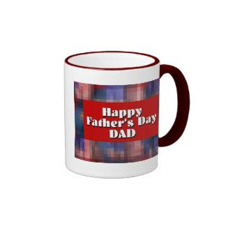 Glücklicher VATI der Vatertag Kaffee Tassen