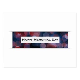 Glücklicher Volkstrauertag (bokeh) Postkarte