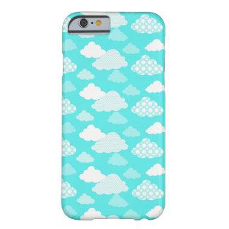 Glücklicher Wolken-Muster-Telefon-Kasten Barely There iPhone 6 Hülle