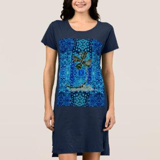 Glückliches Blau Kleid