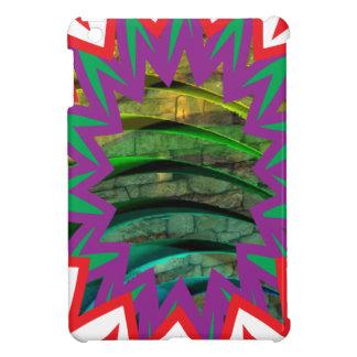 Glückliches buntes Geschenk des grafischen iPad Mini Hülle