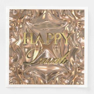 Glückliches Diwali Festival der Papierserviette