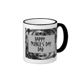 Glückliches Father' s-Tagesvati Tee Haferl