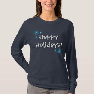 Glückliches Feiertags-Autismus-Bewusstsein - T-Shirt