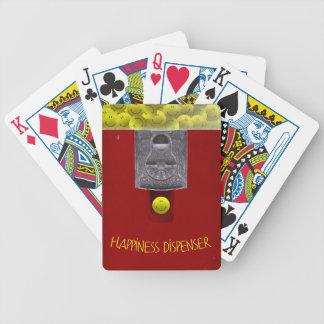 Glückliches Gesicht Gumball Spielkarten
