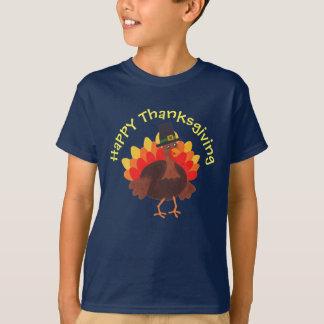 """Glückliches """"glücklicher Erntedank-"""" - T-Stück der T-Shirt"""