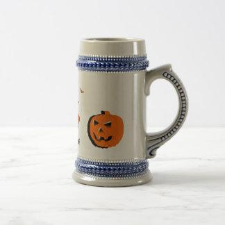 Glückliches Halloween Bierglas