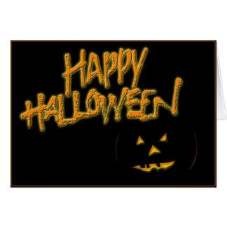 Glückliches Halloween Brush1 Karte