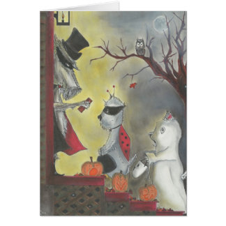 Glückliches Halloween! Karte