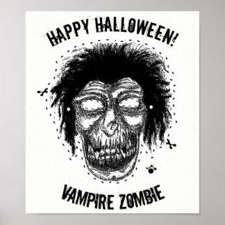 Glückliches Halloween - maskieren Sie Poster