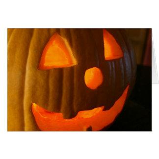 Glückliches Halloween Mitteilungskarte