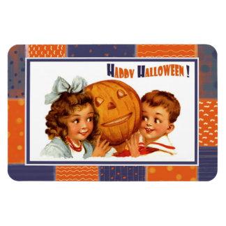 Glückliches Halloween! Vintager Magnet