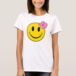 Glückliches Hawaii stellen gegenüber T-Shirt