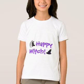 Glückliches Hexe-T-Shirt T-Shirt