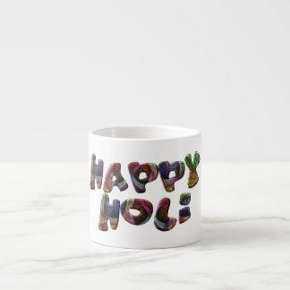 Glückliches Holi hindisches Frühlingsfest von Espressotasse